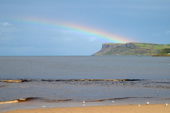 Fair Head vue de ballycastle