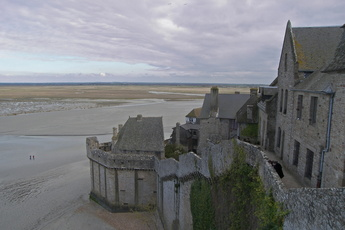 Rempart du Mont-Saint-Michel