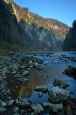 La Dunajec (Parc National de Pieninski)