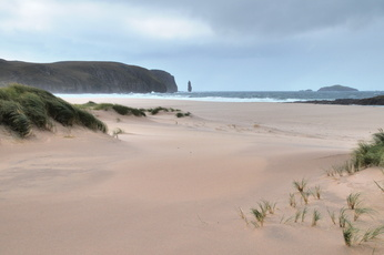 Sandwood Bay et Am Buachaille